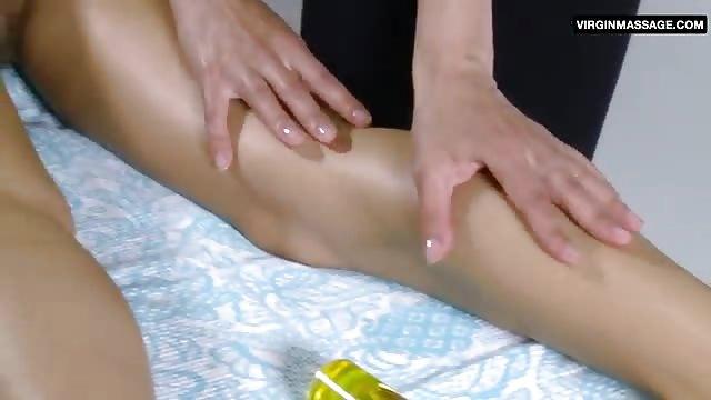 Sensual ass massage