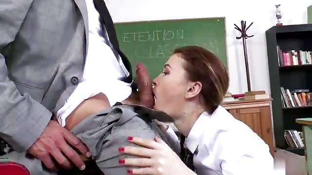 Teen Threesome After School