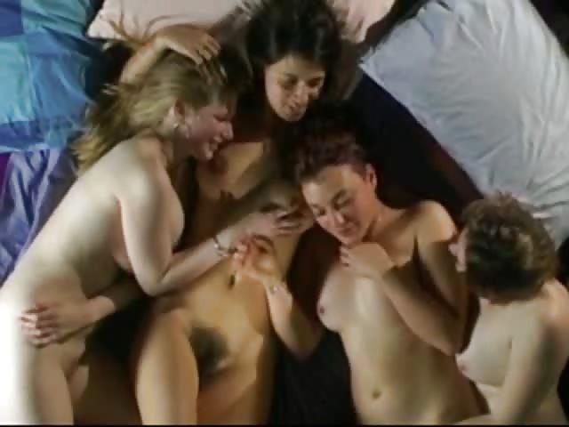 Lesbijskie czwórka porno