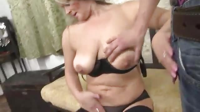 Hot mom sex with son