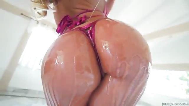 Huilée Ebony vidéos porno
