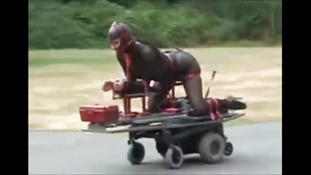 Rollstuhl porn
