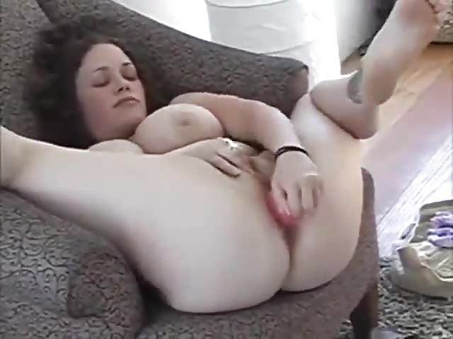 Huge Tits Shemale Masturbation