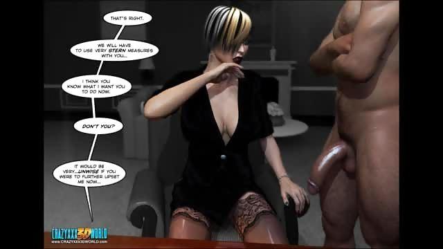 3-d komiksy porno biv tits