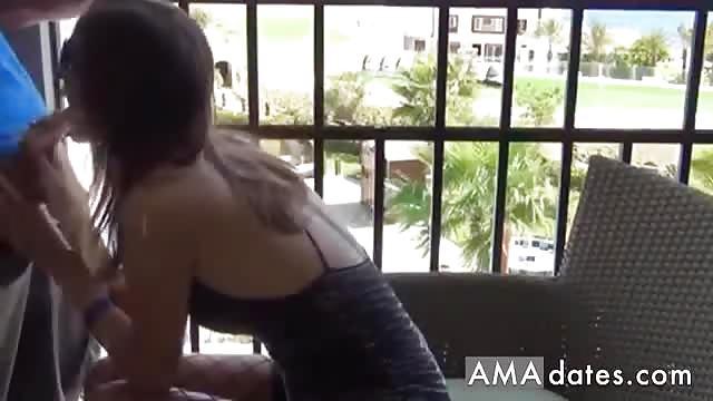 Hot German Teen Anal Sex On Balcony Dkd