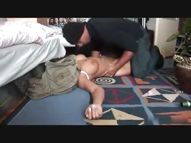 nonconsensual anal sex - Busty blonde mugged