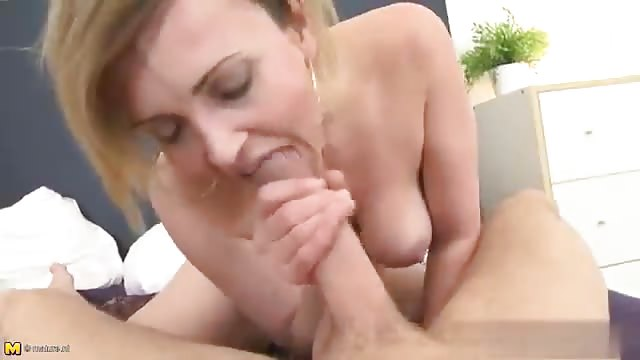 German Mature Young Threesome