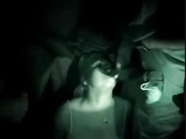 Superbes pipes en pleine nuit