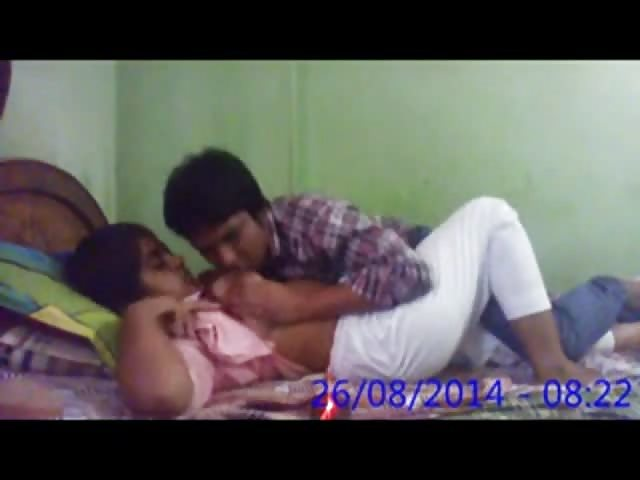 Amateur Indian Couple Home Alone - Pornjamcom-3860