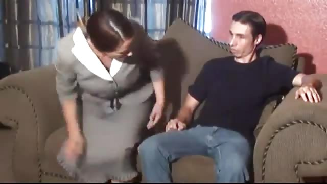 Handjob stepmom and