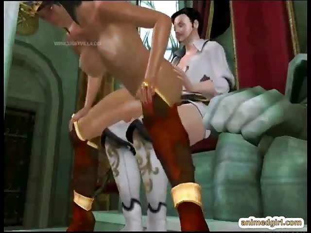 Light Skin Ebony Riding Dick