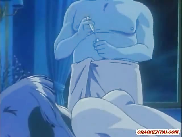 Busty Japanese Anime Hot Poked From Behind By