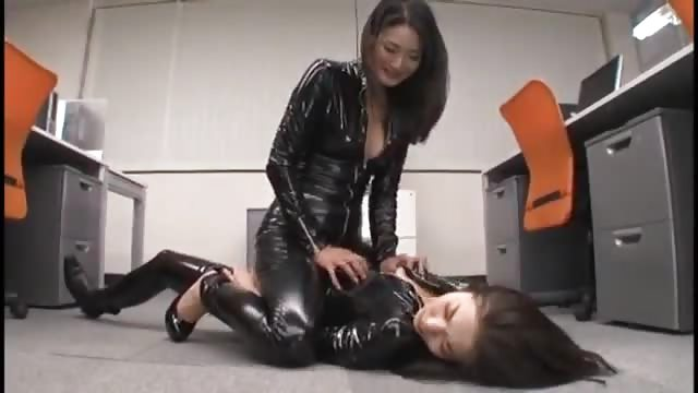 Hot japanese lesbian massage 5