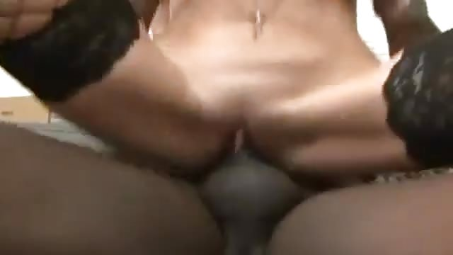 French Suck Takes Big Black Dick In Her Ass
