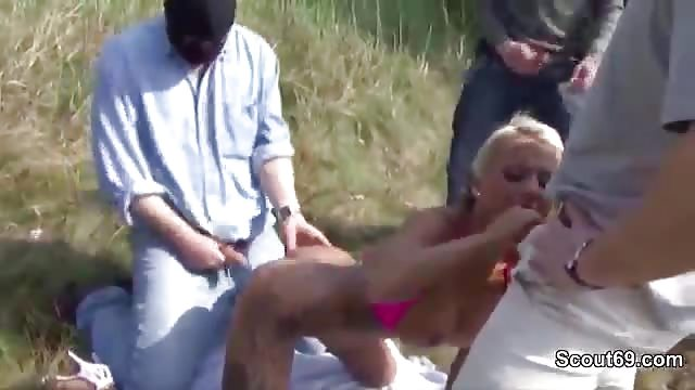 het beste Duitse handjob