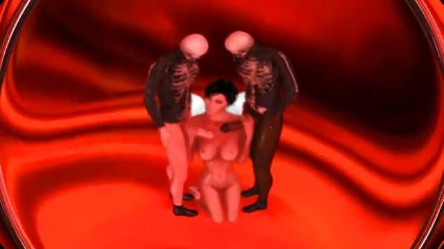 Diabły trójkąt porno