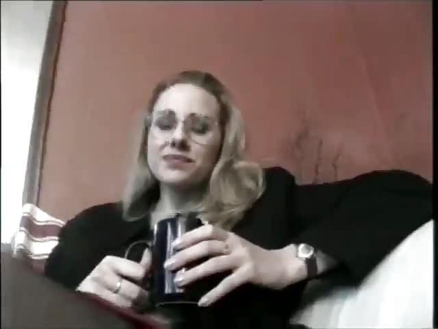 Blondine fickt Kameramann