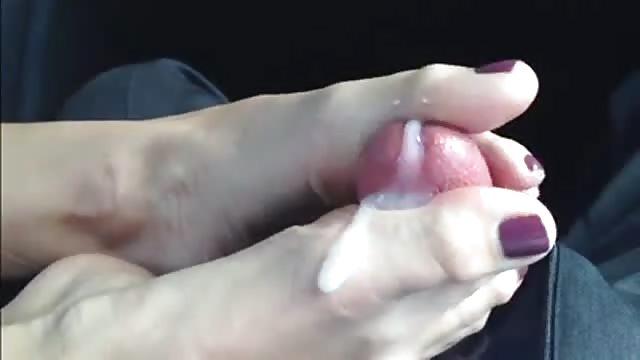 Compilation branlettes avec les pieds