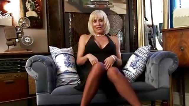 Hot Tattooed Blonde Milf Pov
