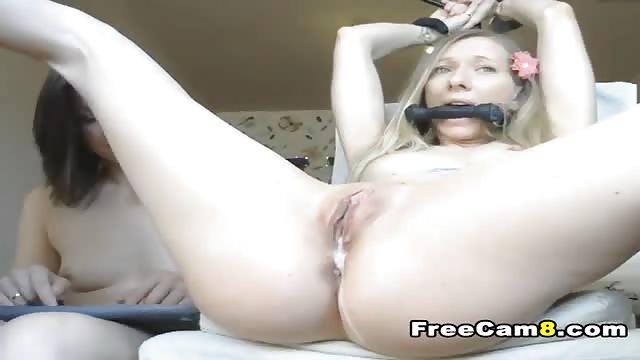 Blonde has multiple orgasms better