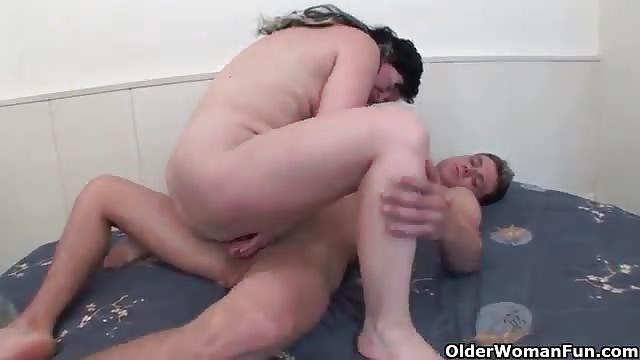 Small Tit Milf Masturbates