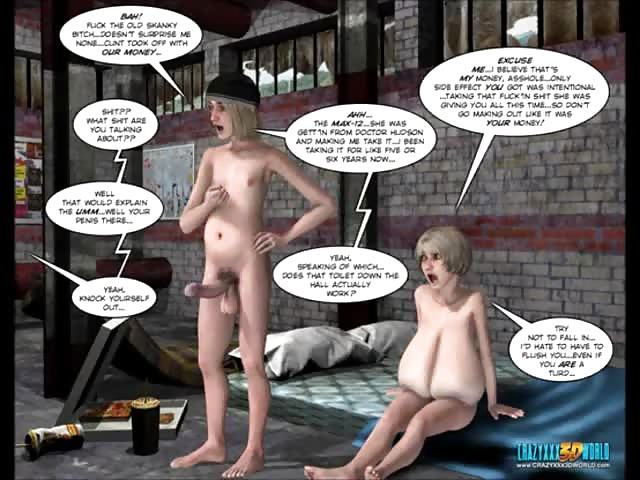 3d comic malevolent intentions episode 10 - 1 part 6