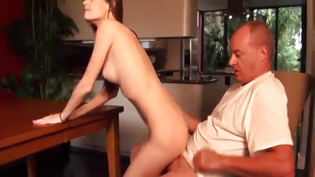 Fucked by daddy