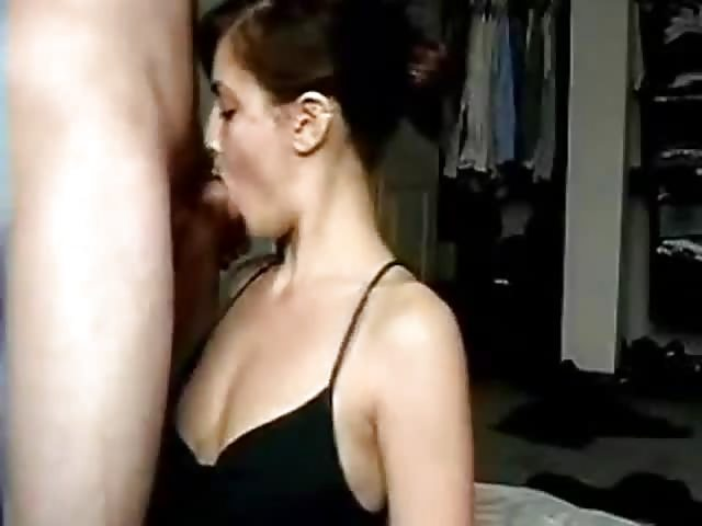 Amateur pov wife in leather pants gets creampie 7
