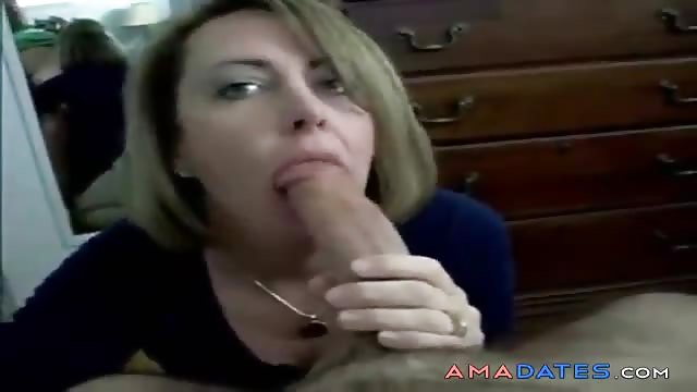 Mature french facial