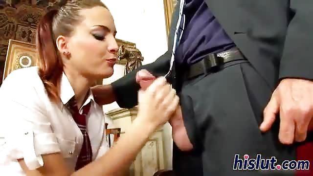 Girl Getting Fucked School